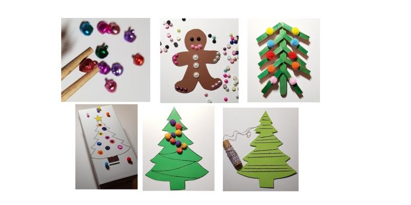 Finommotorika fejlesztése játékosan karácsonykor is - 10+1 ötlet
