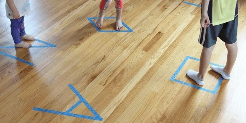 Lakásban is játszható, 25 mozgásos játék
