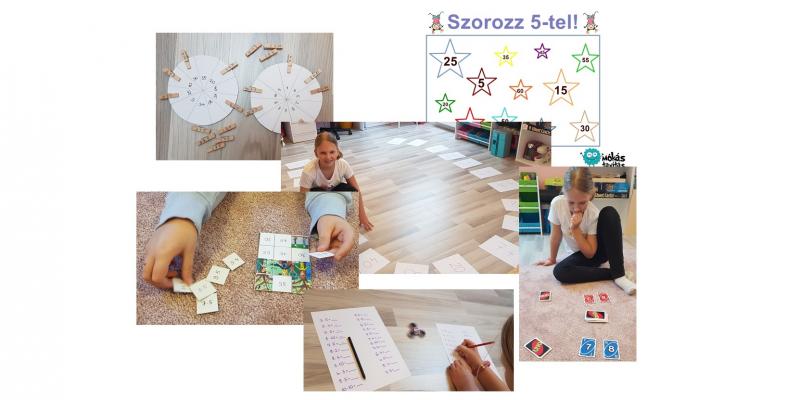 Játékos szorzás, osztás - 12 ötlet az otthoni (iskolai) gyakorláshoz