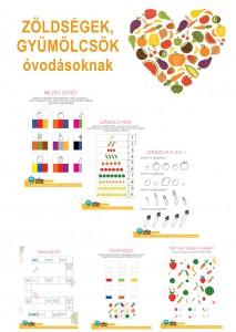 Gyümölcsök, zöldségek - óvodásoknak