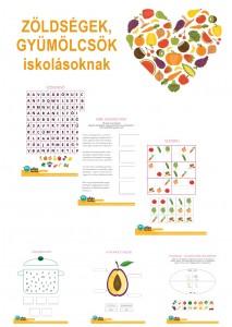 Gyümölcsök, zöldségek - kisiskolásoknak
