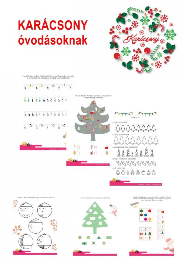 Karácsony - óvodásoknak