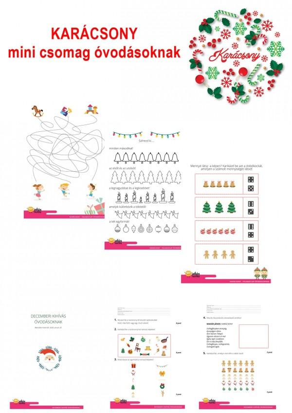 Karácsony - Mini csomag óvodásoknak