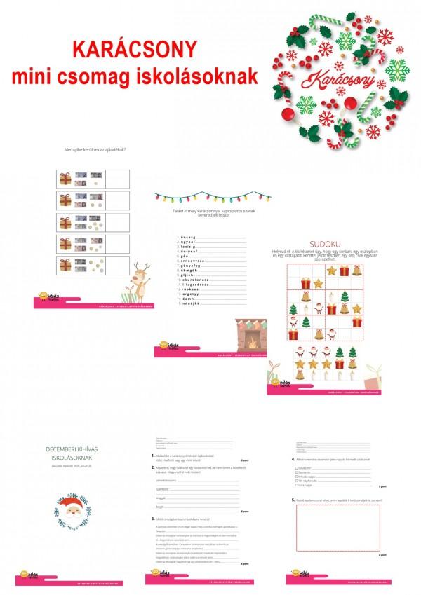 Karácsony - Mini csomag kisiskolásoknak
