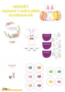 Húsvét - Lapbook csomag óvodásoknak