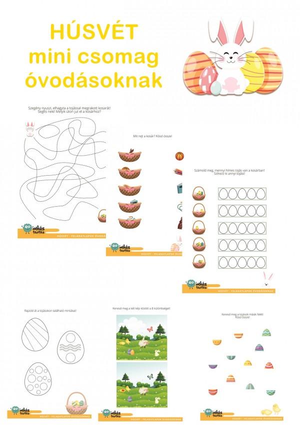 Húsvét - Mini csomag óvodásoknak