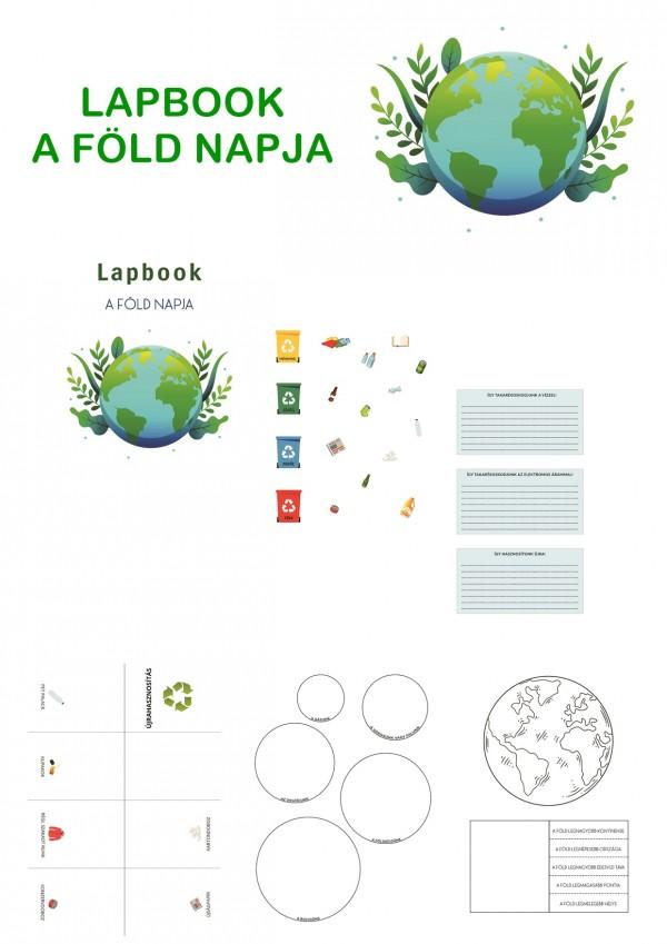 A Föld napja - Lapbook kisiskolásoknak