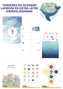 Tengerek és óceánok - Lapbook csomag kisiskolásoknak