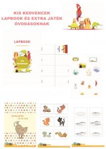 Kis kedvencek - Lapbook csomag óvodásoknak