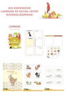 Kis kedvencek - Lapbook csomag kisiskolásoknak