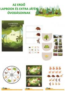 Az erdő - Lapbook csomag óvodásoknak