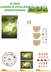 Az erdő - Lapbook csomag kisiskolásoknak
