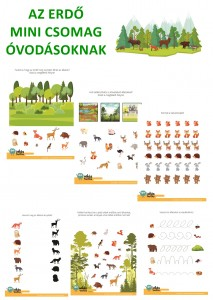 Az erdő -Mini csomag óvodásoknak