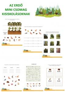 Az erdő - Mini csomag kisiskolásoknak