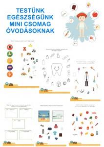 Testünk és egészségünk - Mini csomag óvodásoknak