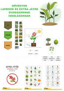 Növények - Lapbook csomag ovisoknak, iskolásoknak