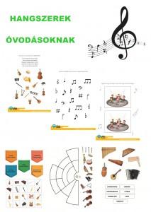 Hangszerek - Óvodásoknak
