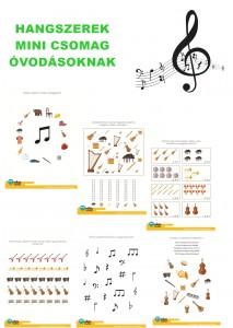 Hangszerek - Mini csomag óvodásoknak