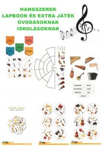 Hangszerek - Lapbook csomag ovisoknak, iskolásoknak