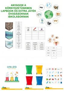 Anyagok a környezetünkben - Lapbook csomag ovisoknak, iskolásoknak