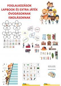 Foglalkozások - Lapbook csomag ovisoknak, iskolásoknak