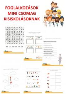 Foglalkozások - Mini csomag kisiskolásoknak