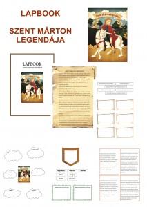 Szent Márton legendája - Lapbook